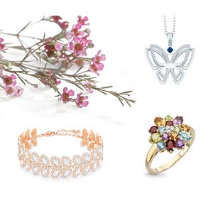 Flora and Fauna Spring Jewellery