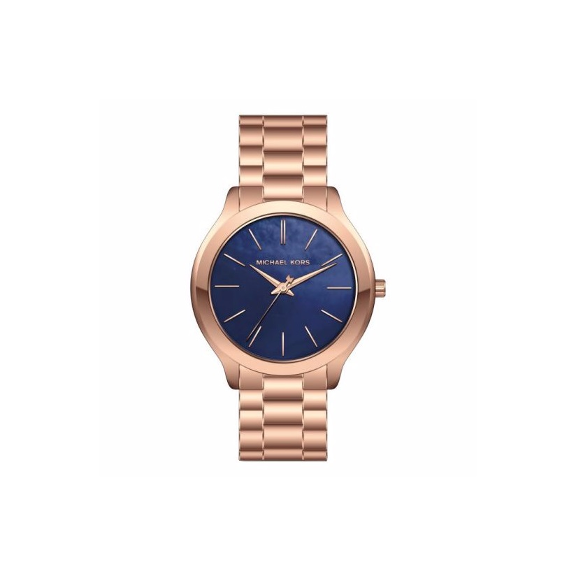 Michael Kors Slim Runway Ladies' Rose Gold Tone Watch
