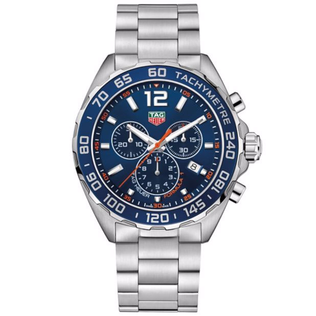 TAG Heuer F1 Men's Stainless Steel Bracelet Watch