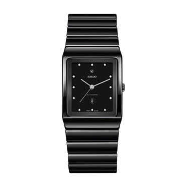Rado Ceramica Men's Ceramic Black Bracelet Watch