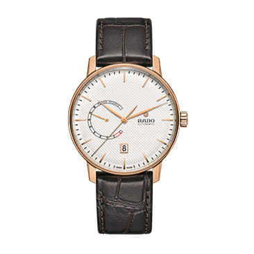 Rado Men's C Class Rose Gold Plated Leather Strap Watch