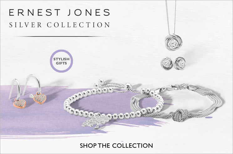 Ernest Jones Silver Collection - Shop now