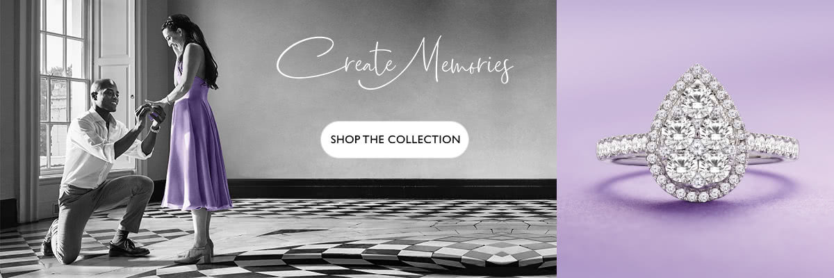 Create Memories at Ernest Jones - shop now