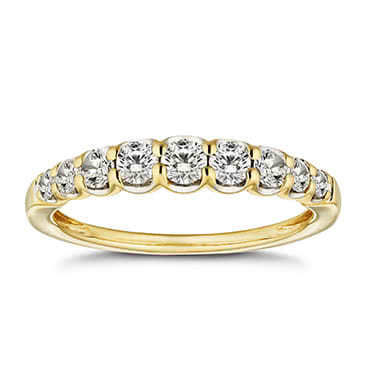 18ct Gold 1/2ct Diamond Eternity Ring