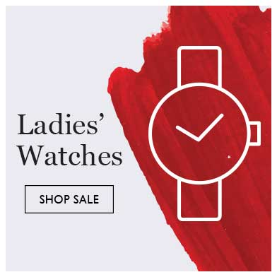 Up to half price ladies' watches sale - shop sale