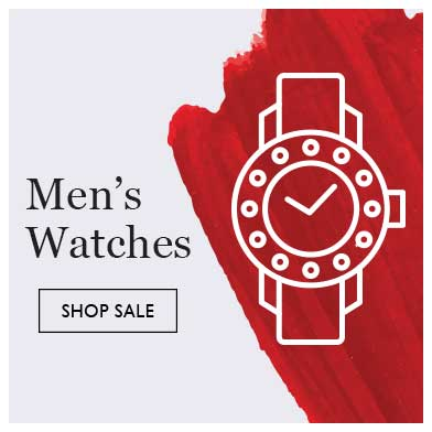Up to half price men's watches sale - shop sale