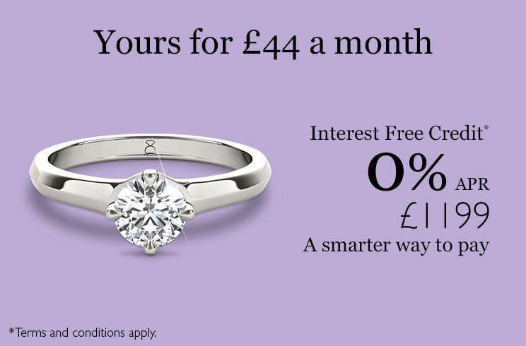 The Diamond Story Ring available on interest free credit