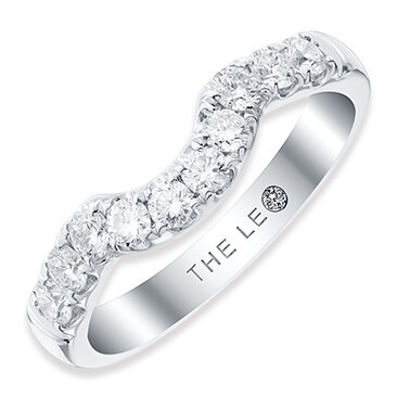 The Leo Diamond wedding rings
