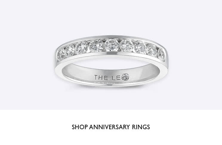 Anniversary rings - shop now