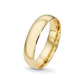 Yellow gold wedding rings - shop now