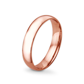 Rose gold wedding rings - shop now
