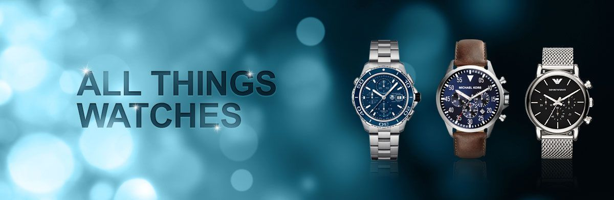 All Things Watches - all the watch information you will need to find your next perfect timepiece