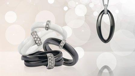 Modern jewellery and watches