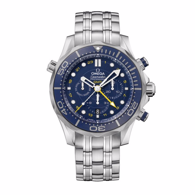 Omega Seamaster Men's Chronograph Bracelet Watch - £4480