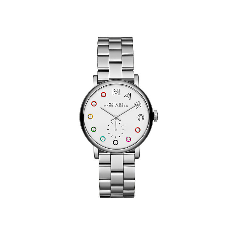 Marc Jacobs Baker ladies' stainless steel bracelet watch