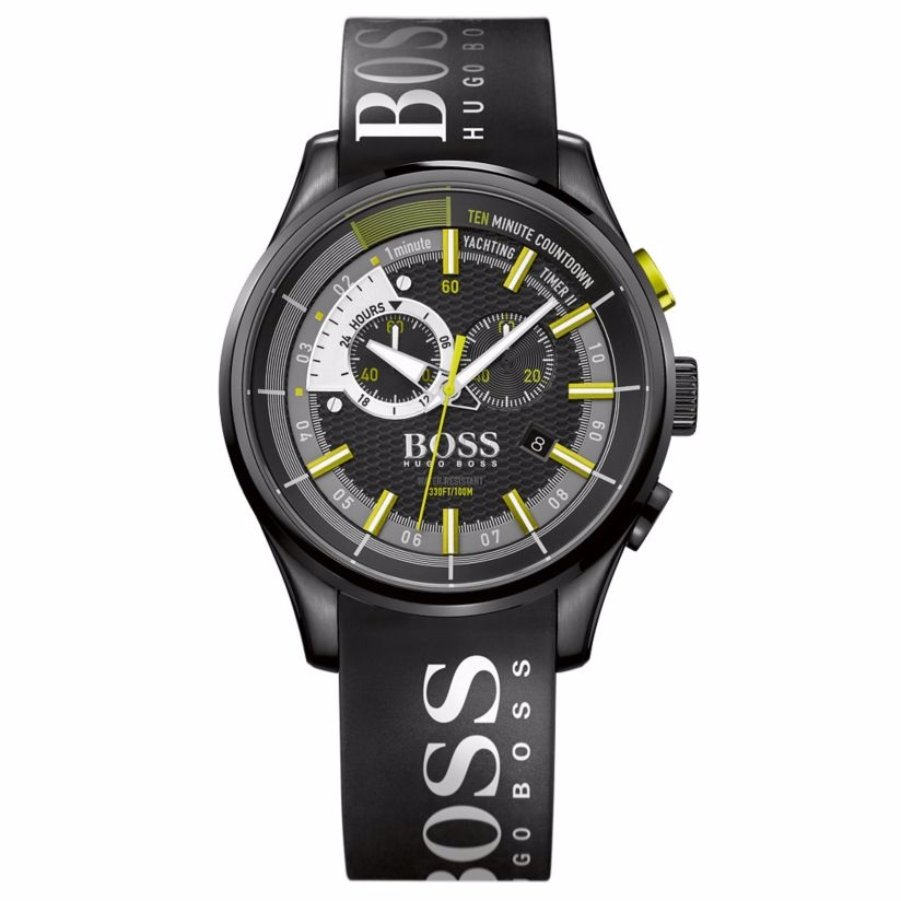 Hugo Boss Regatta Men's Ion Plated Strap Watch