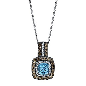 Le Vian® pendant with aquamarine stone