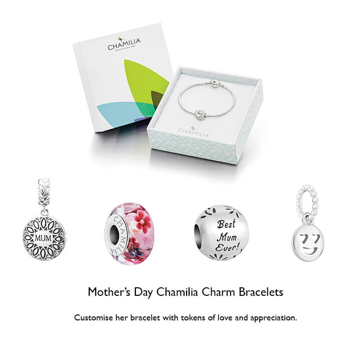 Chamilia bracelets for mothers day