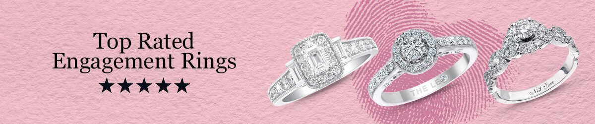 Top Rated Valentine's Engagement Rings