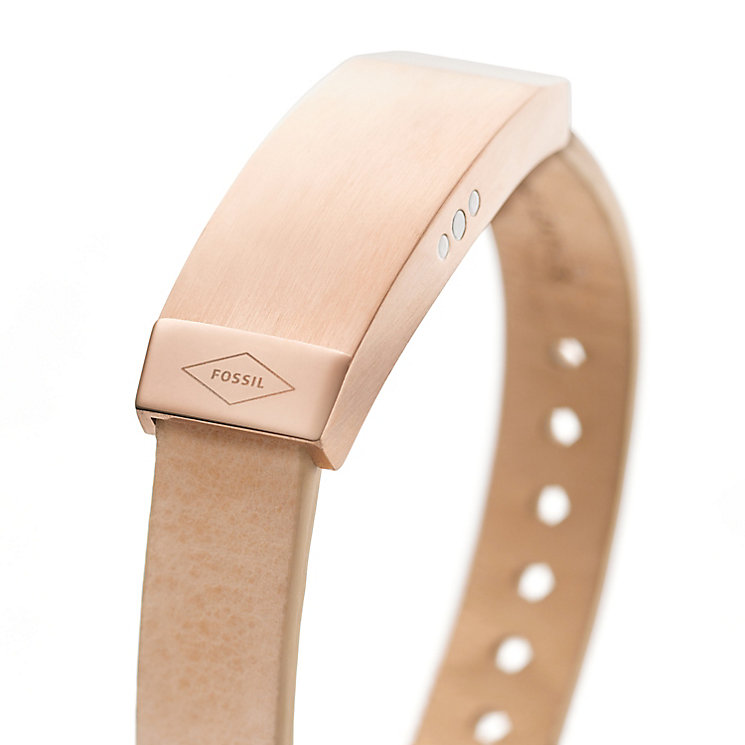 Fossil Q Dreamer Ladies' Sand Leather Activity Tracker