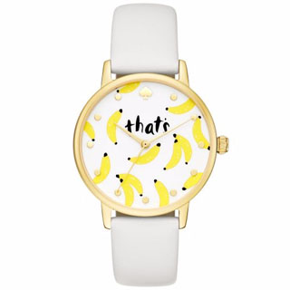Kate Spade Metro Ladies' Gold Tone Strap Watch