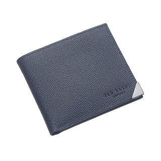 Ted Baker - navy leather wallet
