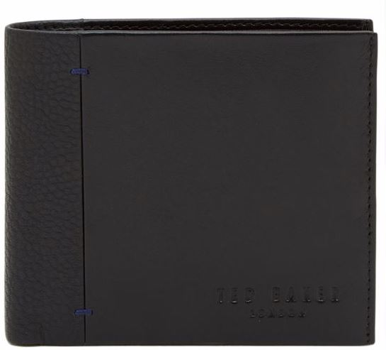 Ted Baker Men's Black Leather Wallet