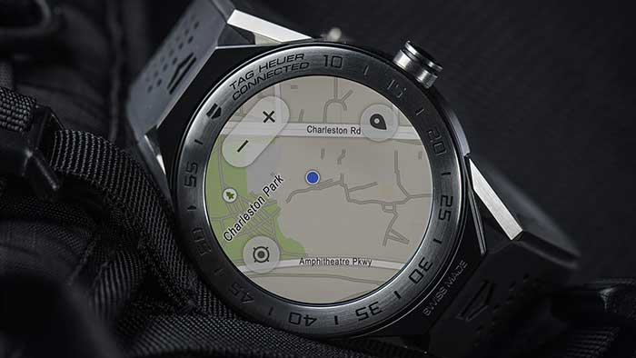 TAG Heuer Connected built-in GPS