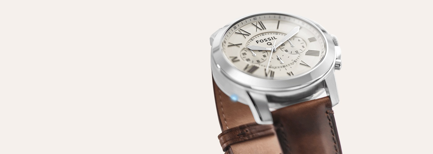 Fossil Q Grant Chronograph Smart Strap Watch