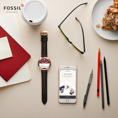 Fossil Q Smart Watches and Jewellery