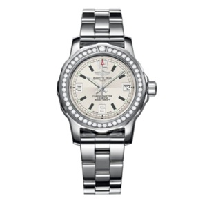 Breitling ladies' watch with steel bracelet
