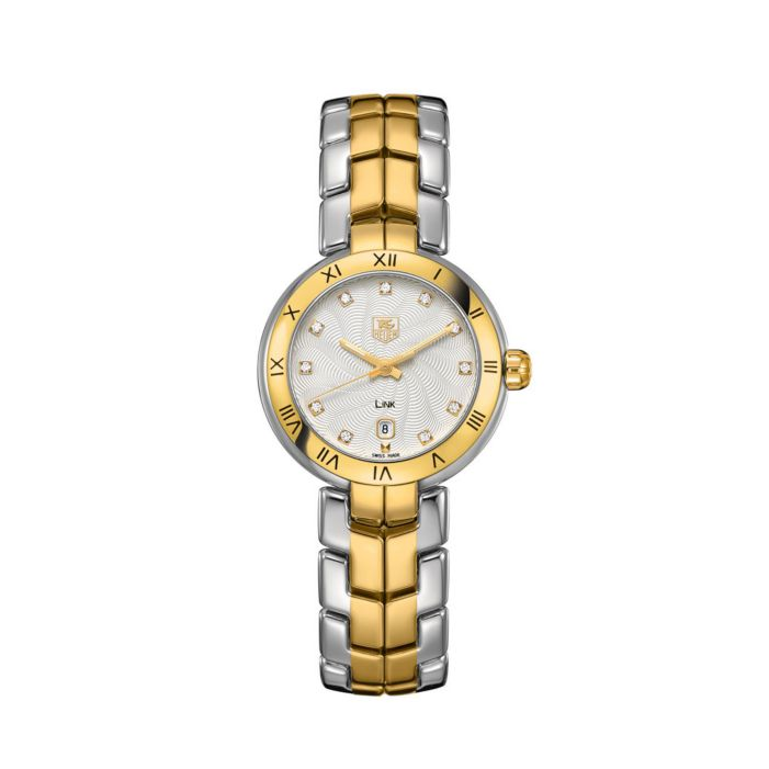 Tag Heuer Ladies' watch with steel and gold-plated bracelet