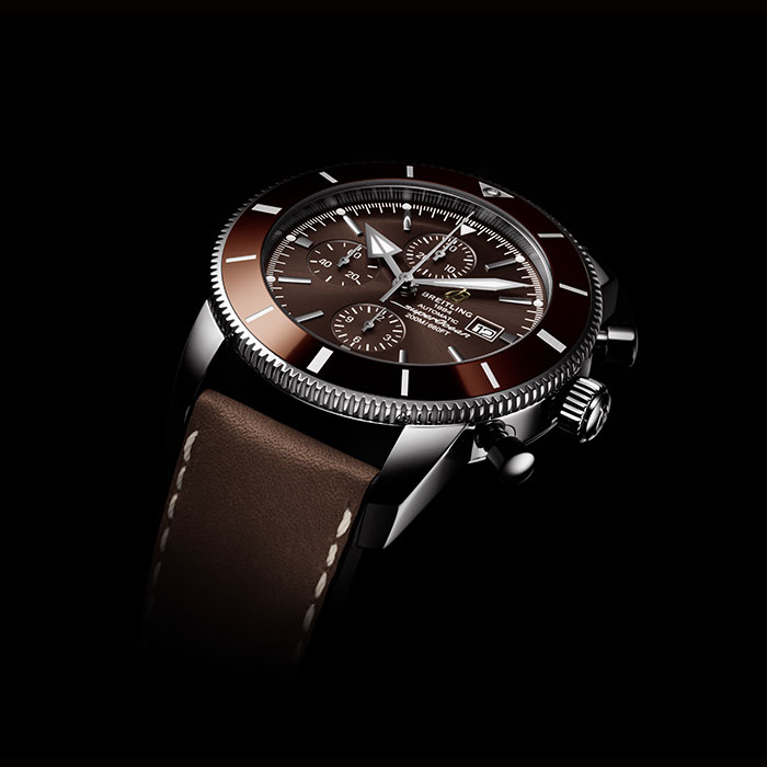 Brown Breitling Superocean II Luxury Watch