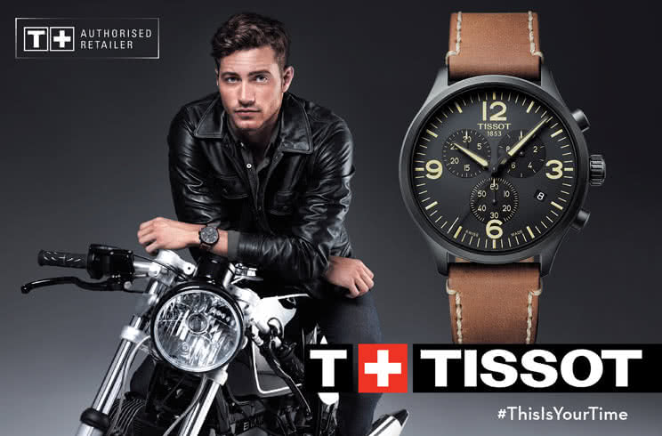 Tissot Men's Watches - Tony Parker - Tissot T-Touch Expert Solar