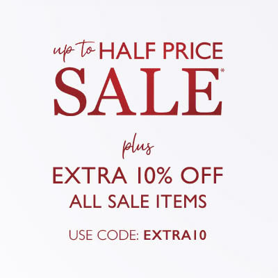 Extra 10% off all sale items