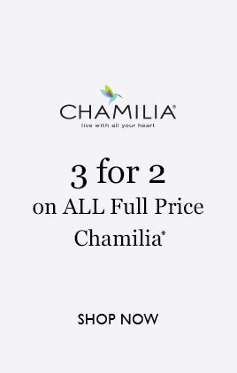 3 for 2 on on all full price Chamilia jewellery
