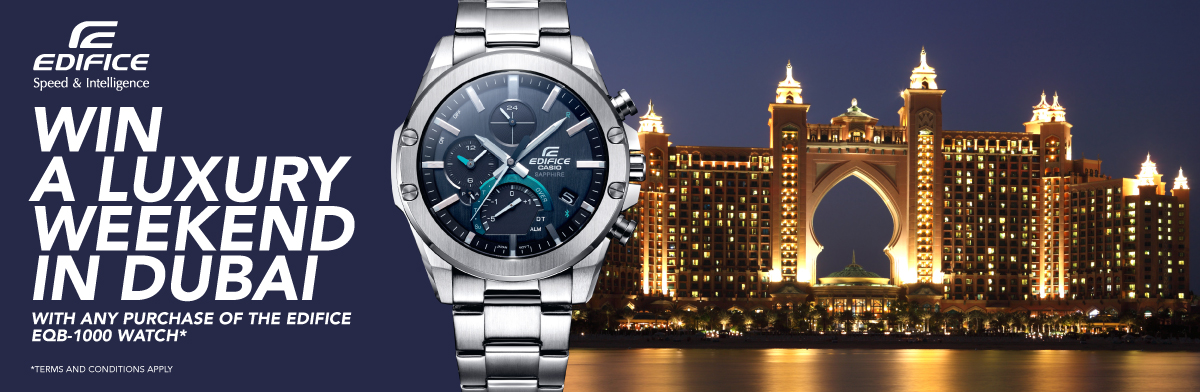 Casio Edifice Competition - Shop now