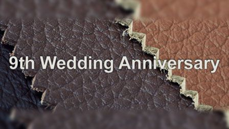 9th Wedding anniversary