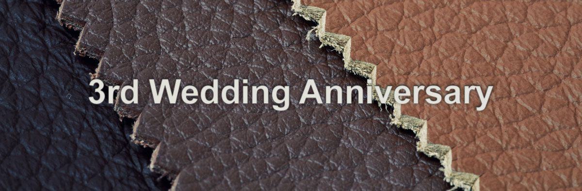Find the perfect leather gift to celebrate your 3rd wedding anniversary at Ernest Jones