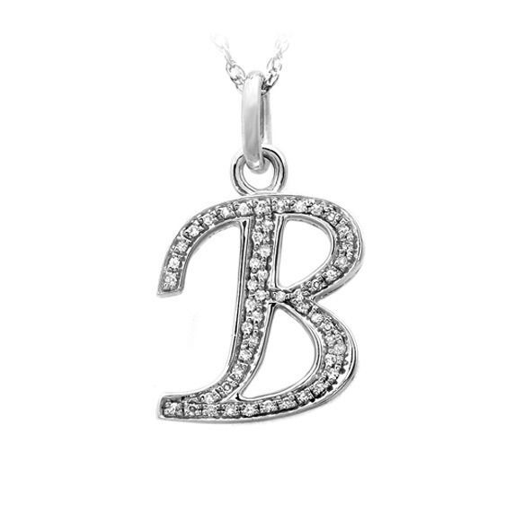 Personalised initial jewellery