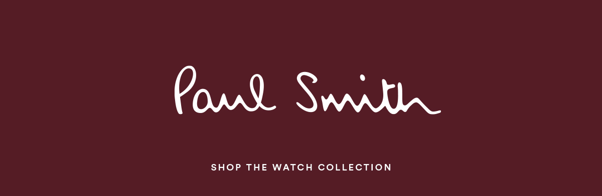 Paul Smith - Shop the Watch Collection