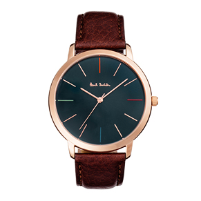 Paul Smith MA Leather Strap Watches
