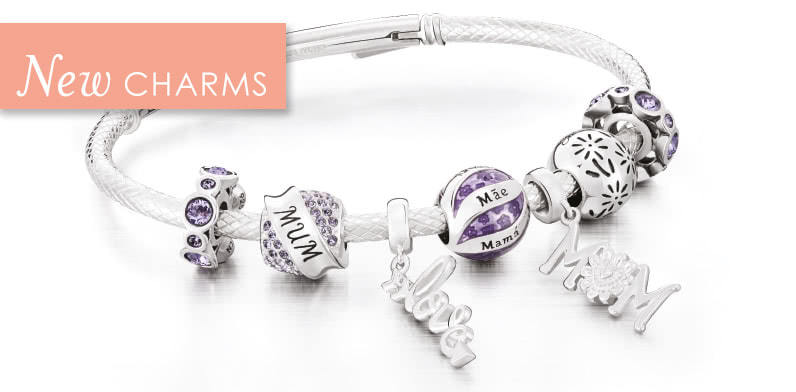 Shop new charms