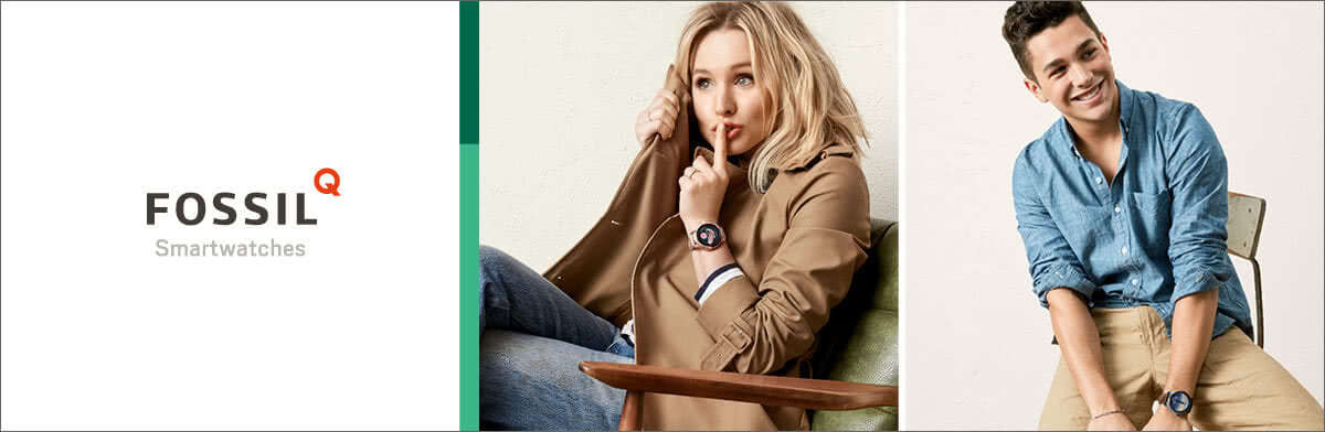Fossil Q Smartwatches- shop now