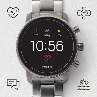 Fossil Q Touchscreen Men's Smartwatches