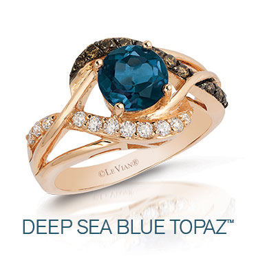 Le Vian Deep Sea Blue Topaz