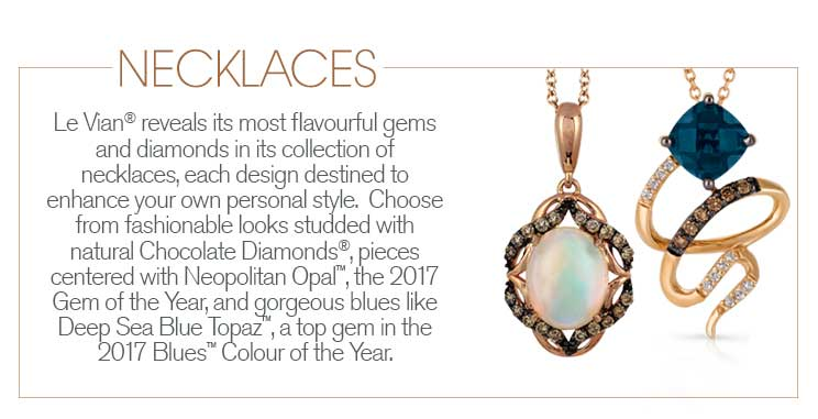 Le Vian necklaces