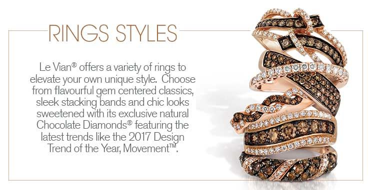 Le Vian ring styles