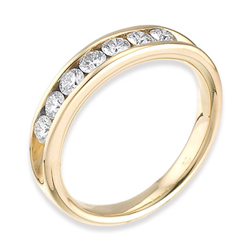 The Leo Diamond eternity rings