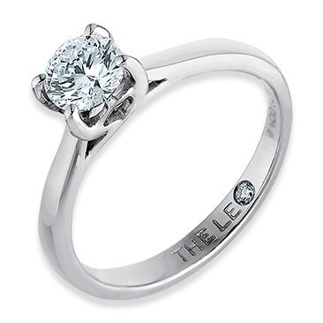 The Leo Diamond solitaire rings